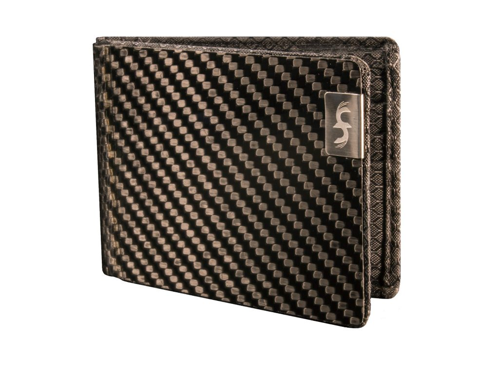 MAX Black Carbon Fiber Wallet