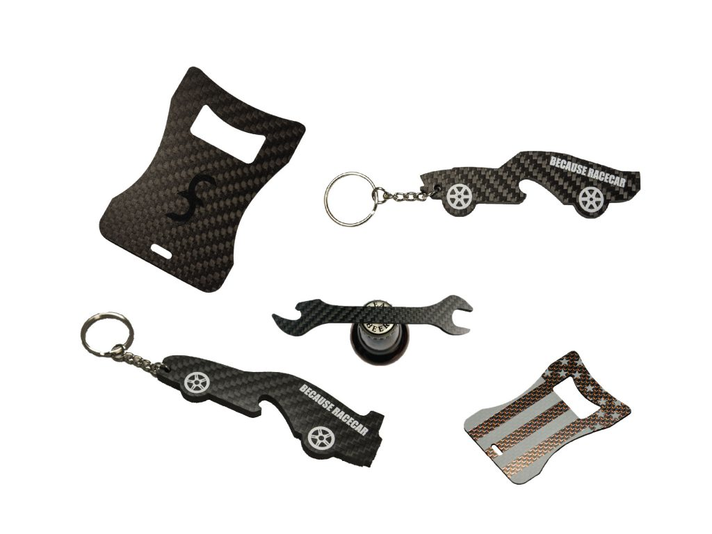 Custom Carbon Fiber Bottle Openers